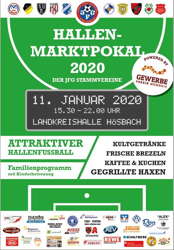 Plakat Marktpokal 2020