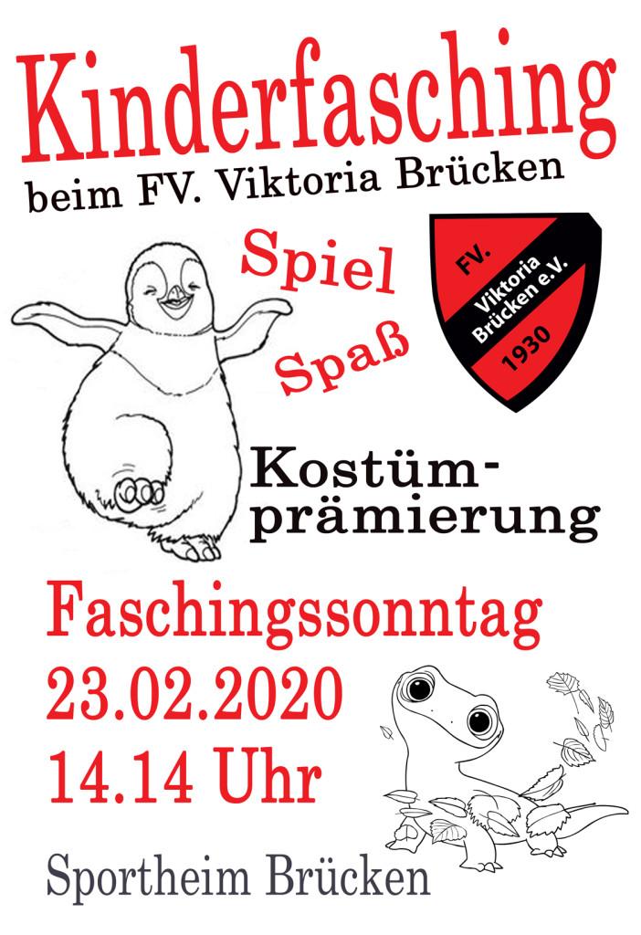 Plakat Kinderfasching